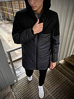 Парка мужская демисезонная / куртка весенняя / осенняя Fusion X grey ТОП качество