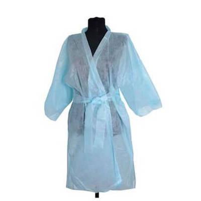 Халат-кимоно  косметологический одноразовый,с руковом