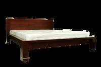 Кровать из массива ольхи Империя (160*200)белая