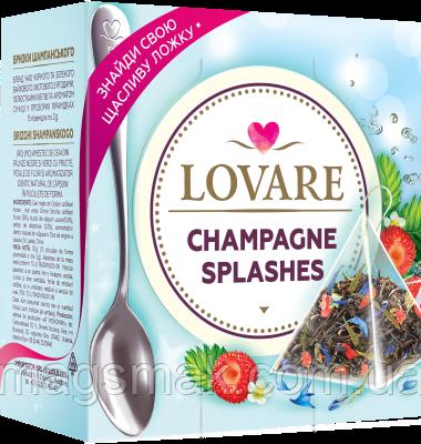 Чай Lovare / Ловаре Брызги шампанского, 15 пирамидок, фото 2