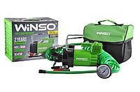 Компрессор для подкачки шин, компресор автомобільний 10 Атм, 40 л/хв. 200Вт., кабель 3м., шланг 5,7м., спускний клапан WINSO