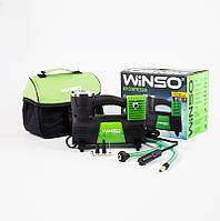 Компрессор для подкачки шин, компресор автомобільний 10 Атм, 40 л/хв.170Вт,кабель 3м.,шланг 1м.WINSO