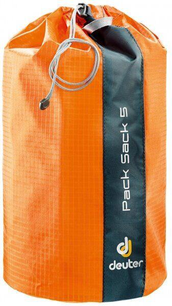 Мешочек для укладки вещей Deuter Pack Sack 5 mandarine (3940716 9010)