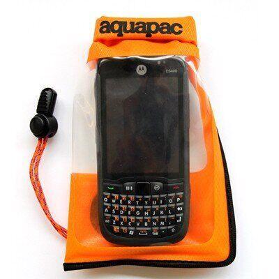 Водонепроницаемый чехол для смартфона Aquapac Stormproof Phone Case Small orange (035)