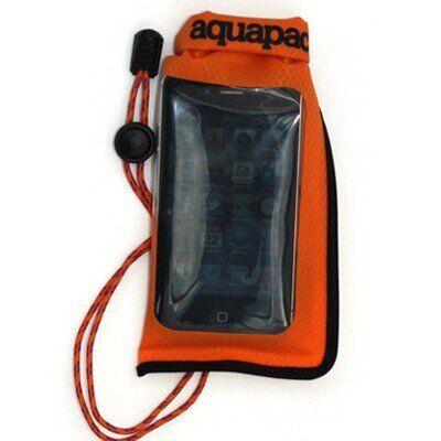 Водонепроницаемый чехол для смартфона Aquapac Stormproof Phone Case Mini orange (034)