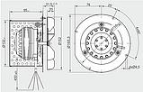 Вытяжной вентилятор MplusM R2E 150-AN91-01, фото 4
