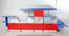 Стенка для игровой комнаты «Вертолет», фото 2