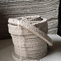 Асбестовый шнур плетенный АС 14х14мм для котлов