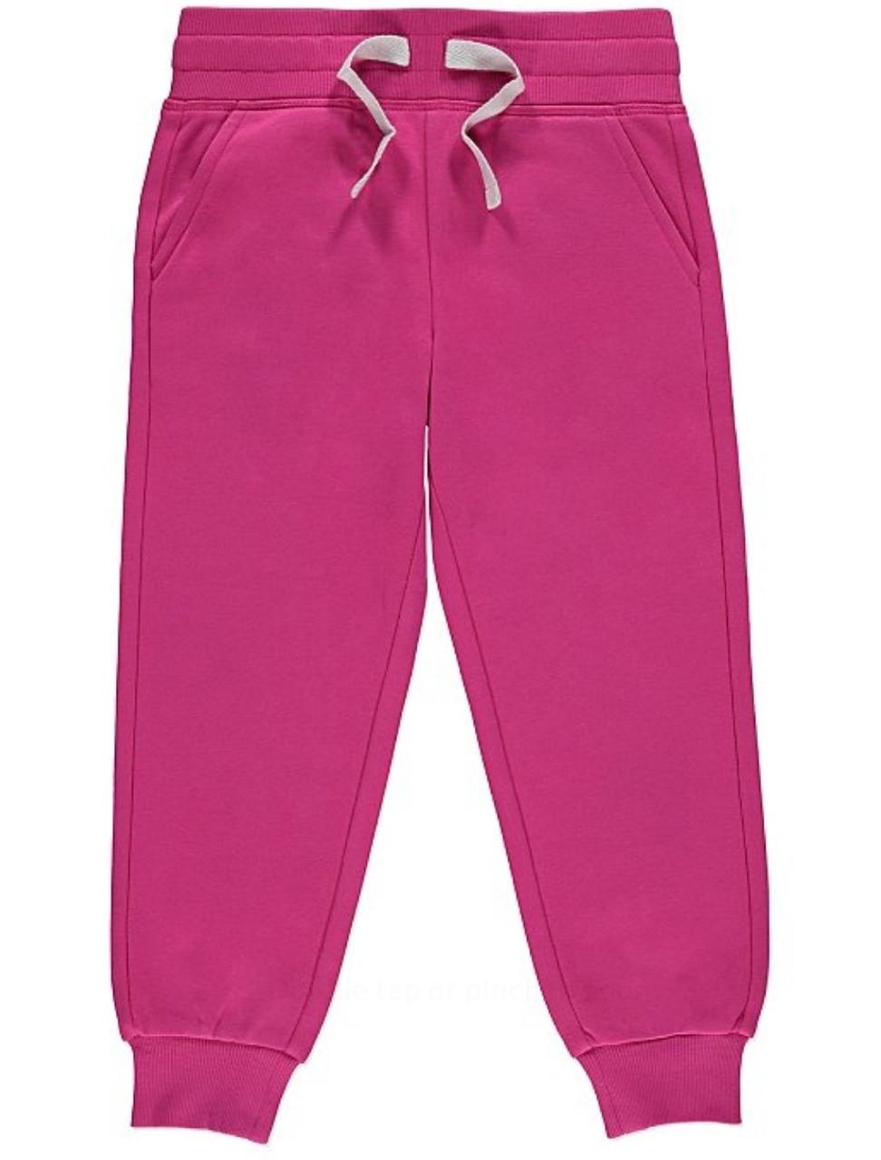 Спортивні штани для дівчаток рожеві George (Англія) 128, 134см