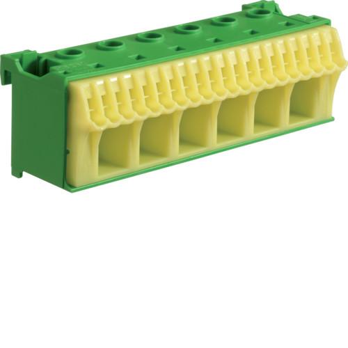 Блоки клем QiuckConnect PE-боки, зелені