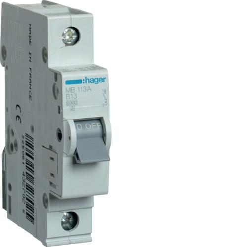 Автоматичні вимикачі від 0.5А до 63А B 1P