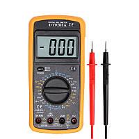 Мультиметр цифровий DT-9205A з автовыключением, амперметр(10A), вольтметр, продзвонювання