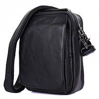 Мужская сумка через плечо GMD Черный (1012A) КОД: 1012A