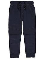 Синие спортивные штаны с начесом George (Англия) р.116, 134, 140, фото 1