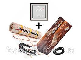 Нагревательный мат Fenix LDTS 12130-165 ( 0.8 м2) с сенсорным терморегулятором Terneo S в комплекте (KIT2202)