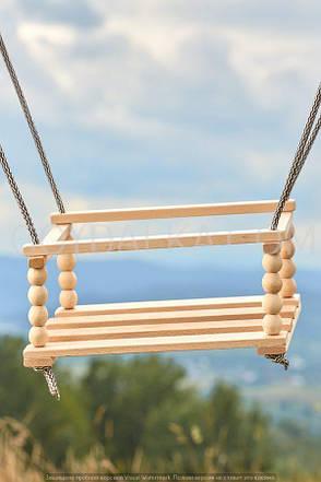 Качель деревянная-1, фото 2