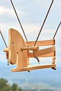 Качели деревянные (лошадка)