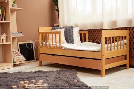 Кровать «TEXAS» (700 * 1400) (бук), фото 2