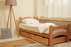 Кровать «PARIS» с ящиками (800 * 1900) (бук), фото 3