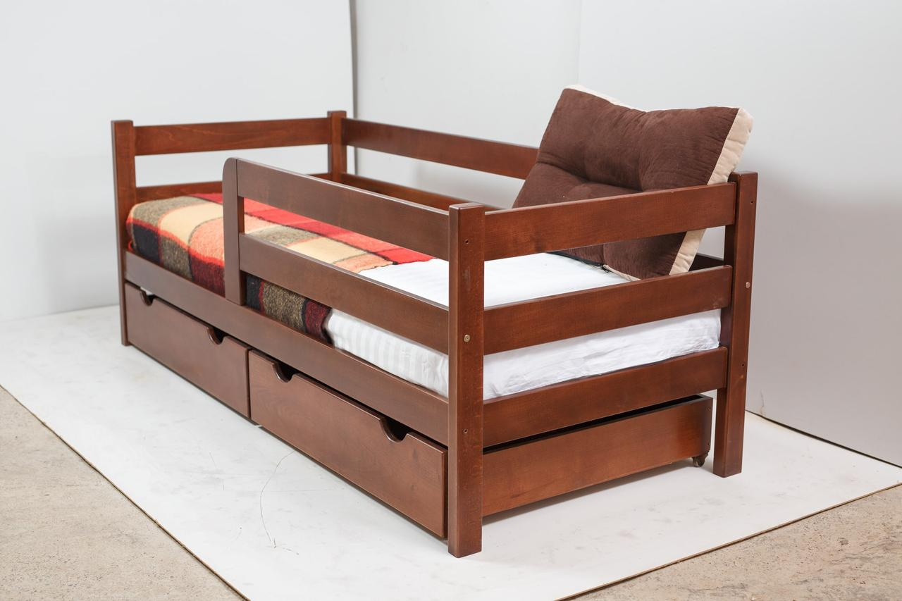 Кровать MONTANA с ящиками (бук) (окрашенные) 800 * 1900 мм.