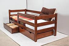 Кровать MONTANA с ящиками (бук) (окрашенные) 800 * 1900 мм., фото 2