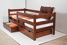 Кровать MONTANA с ящиками (бук) (окрашенные) 800 * 1900 мм., фото 3