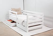 Кровать AURORA с ящиками (бук) (окрашенные) 800 * 1900 мм., фото 2