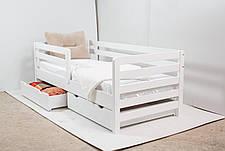 Кровать AURORA с ящиками (бук) (окрашенные) 800 * 1900 мм., фото 3