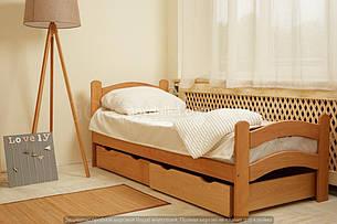 Кровать «PARIS» с ящиками (800 * 1900) (бук) окрашенные, фото 2