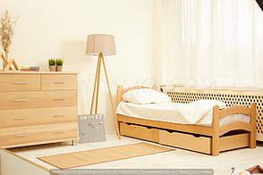 Кровать «PARIS» с ящиками (800 * 1900) (бук) окрашенные, фото 3