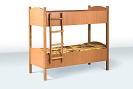 Кровать детская двухъярусная (600-1400) ДСП