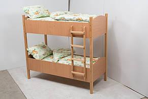 Кровать детская двухъярусная (600-1400) ДСП, фото 2