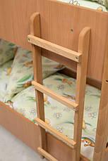 Кровать детская двухъярусная (600-1400) ДСП, фото 3