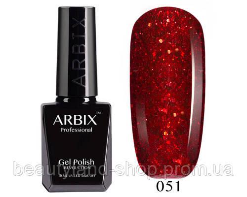 Гель-лак Arbix №51 Огни Барселоны