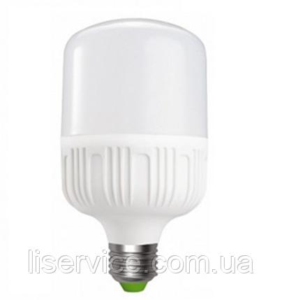 Лампа світлодіодна Ecostrum Т80-20W  (6500К) Е27, фото 2