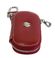 Ключница Carss с логотипом SUZUKI 24015 красная, фото 1