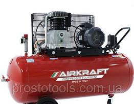 Компрессор с ременным приводом поршневой на 300л  AIRKRAFT AK300-800-380