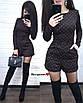 Приталенный комбинезон с шортами, фото 2