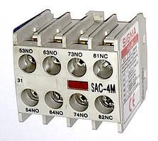 Дополнительные контакты для миниконтактора SIGMA фронтальной установки 4NO