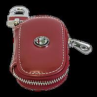 Ключница Carss с логотипом ALFA ROMEO 26015 красная