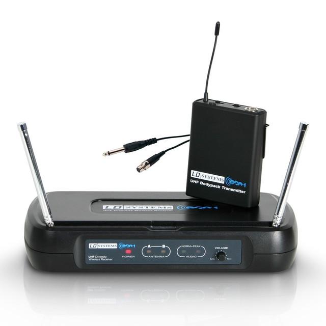 Беспроводная система с гитарным кабелем LD Systems WSECO2BPG