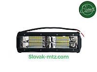 Светодиодная LED фара 144Вт  (светодиоды 3w x48шт)+СТРОБОСКОП