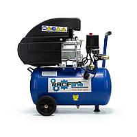 Компрессор 24 л, 1.5 кВт, 220 В, 8 атм, 206 л/мин Profline BDM 24 2.5HP