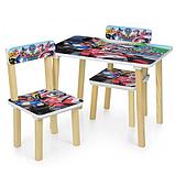 Детский столик со стульчиками деревянный 501-79, фото 2