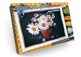 """Дитячий Набір для творчості """"Вишивка бісером та стрічками"""" Danko Toys ОО-09-43"""