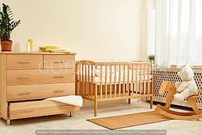 Кровать «ANET» (3 высоты) (600 * 1200) (Бук), фото 2