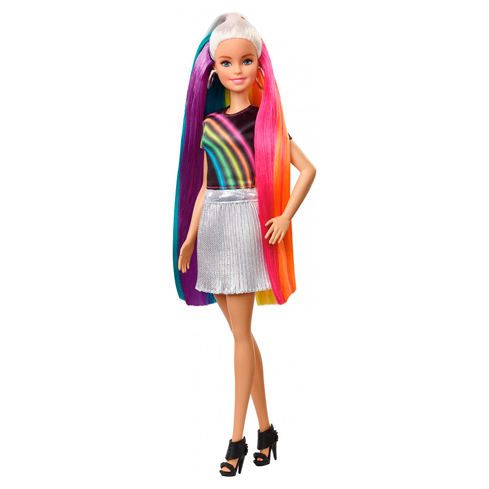 Кукла Барби Радужная и блестящая оригинал FXN96