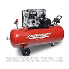 Компрессор поршневой с ременным приводом 200л 380В  AIRKRAFT AK200-510-380