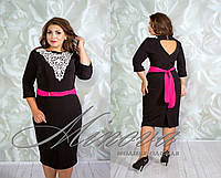 Платье Паруса (размеры 46-58)