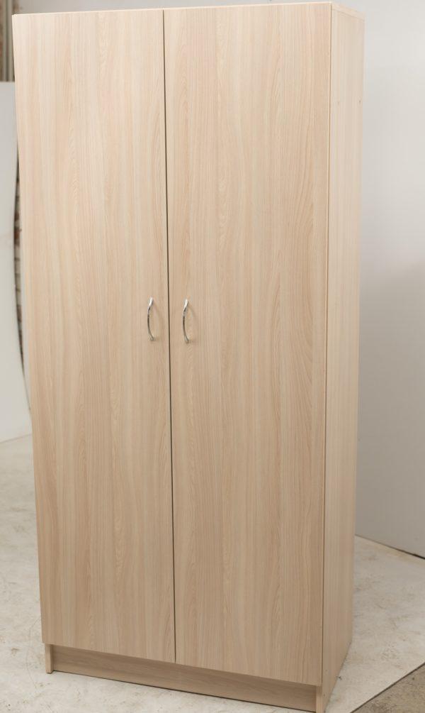 Шкаф для одежды 2-х дверный со штангой и полкой